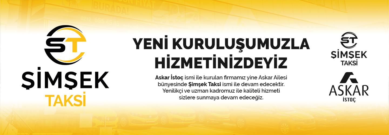 ŞİMŞEK TAKSİ BANNER